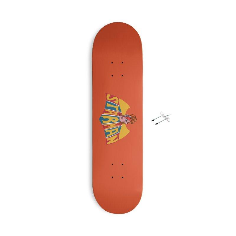 Starman Accessories Skateboard by Mike Hampton's T-Shirt Shop