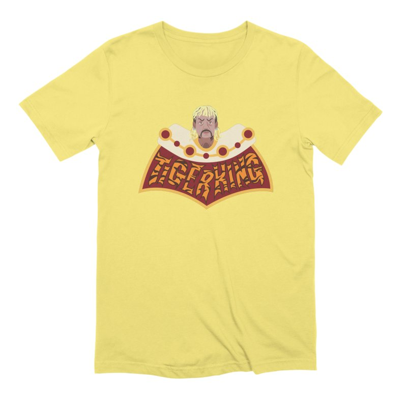 The Tiger King Men's Extra Soft T-Shirt by Mike Hampton's T-Shirt Shop