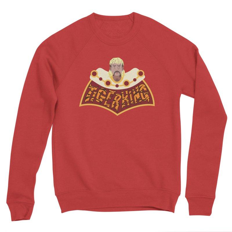 The Tiger King Men's Sponge Fleece Sweatshirt by Mike Hampton's T-Shirt Shop