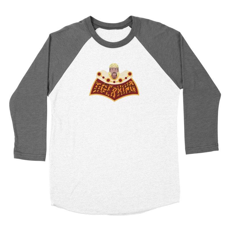 The Tiger King Women's Longsleeve T-Shirt by Mike Hampton's T-Shirt Shop