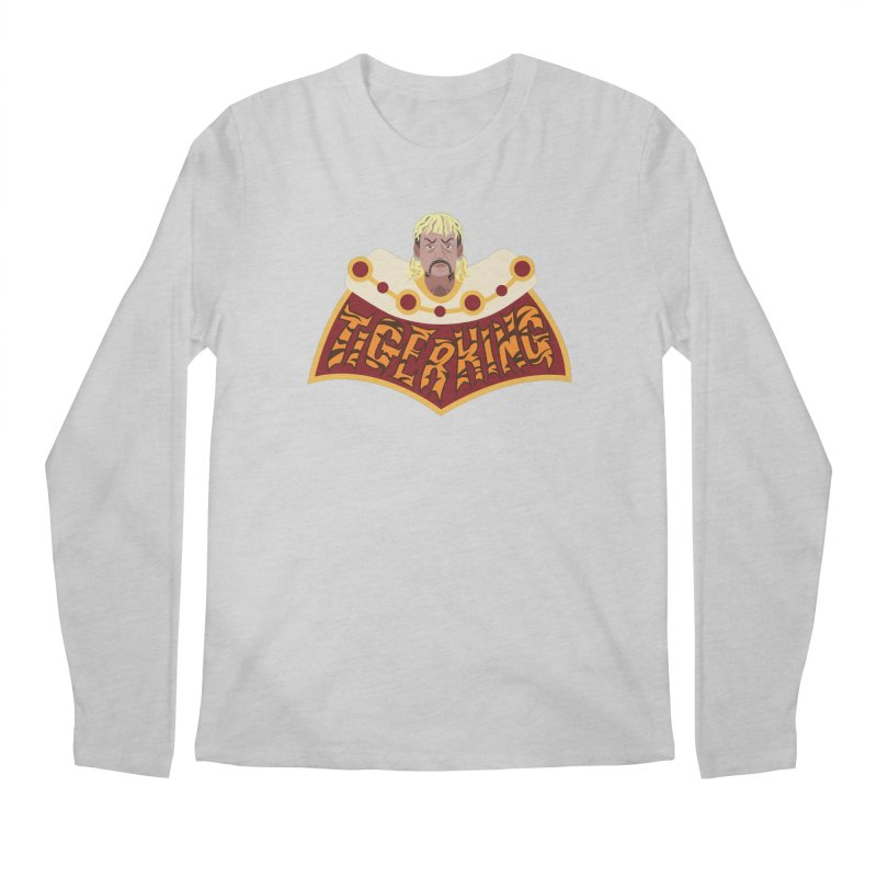 The Tiger King Men's Regular Longsleeve T-Shirt by Mike Hampton's T-Shirt Shop