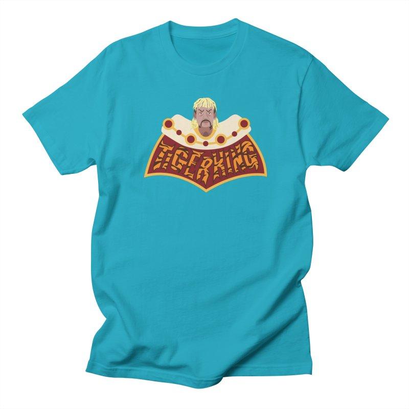 The Tiger King Men's Regular T-Shirt by Mike Hampton's T-Shirt Shop