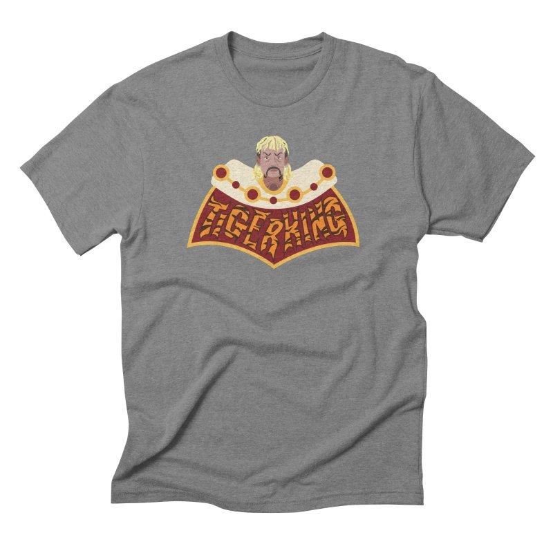 The Tiger King Men's Triblend T-Shirt by Mike Hampton's T-Shirt Shop