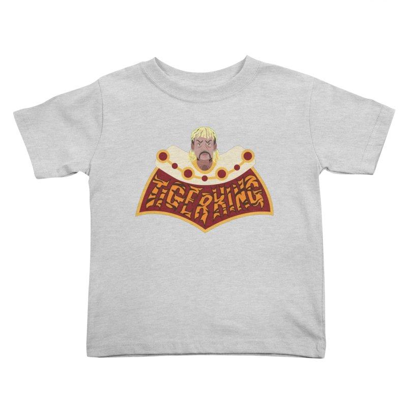 The Tiger King Kids Toddler T-Shirt by Mike Hampton's T-Shirt Shop
