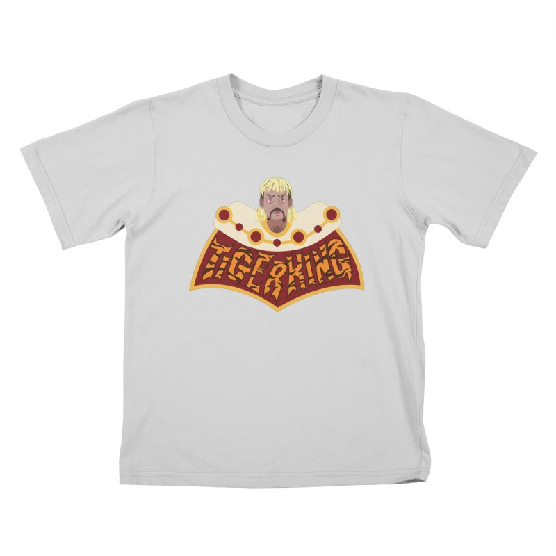 The Tiger King Kids T-Shirt by Mike Hampton's T-Shirt Shop