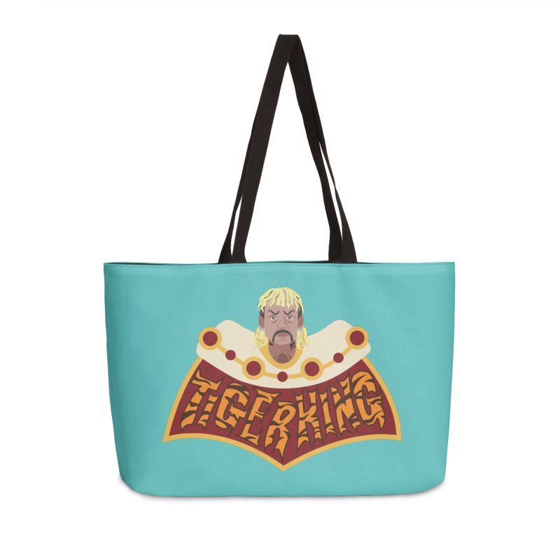 The Tiger King Accessories Bag by Mike Hampton's T-Shirt Shop