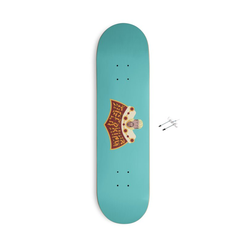 The Tiger King Accessories Skateboard by Mike Hampton's T-Shirt Shop