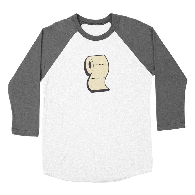 TP Women's Baseball Triblend Longsleeve T-Shirt by Mike Hampton's T-Shirt Shop