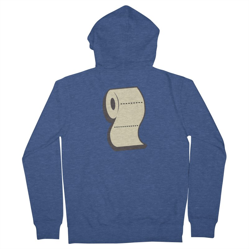 TP Men's French Terry Zip-Up Hoody by Mike Hampton's T-Shirt Shop
