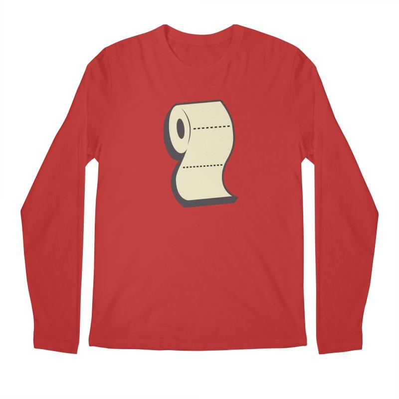 TP Men's Regular Longsleeve T-Shirt by Mike Hampton's T-Shirt Shop