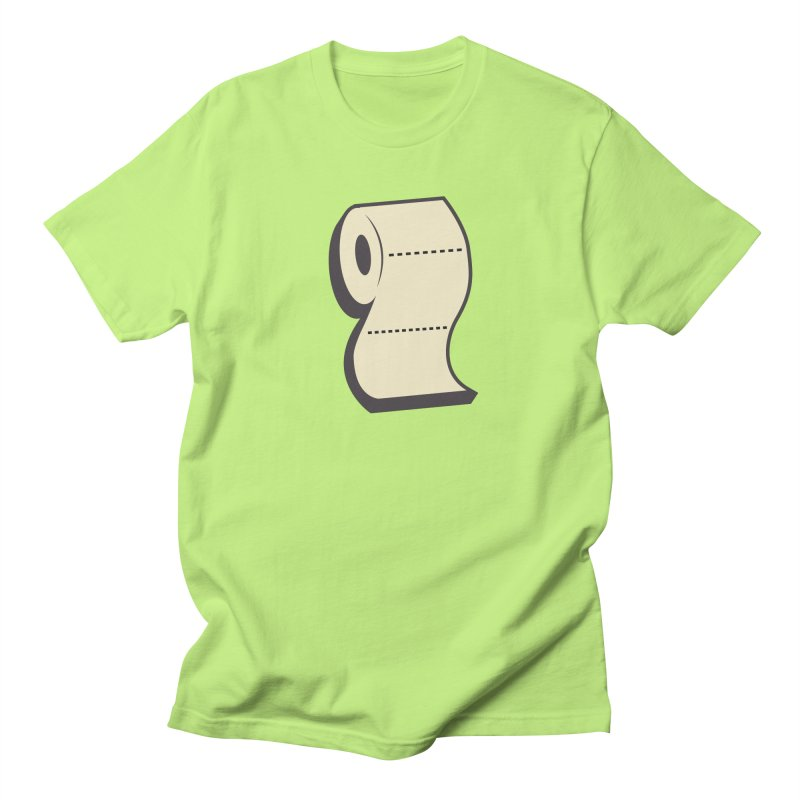 TP Men's Regular T-Shirt by Mike Hampton's T-Shirt Shop