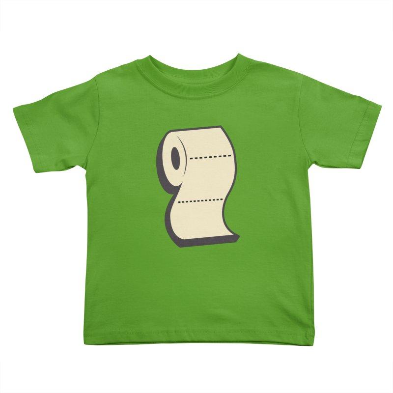 TP Kids Toddler T-Shirt by Mike Hampton's T-Shirt Shop
