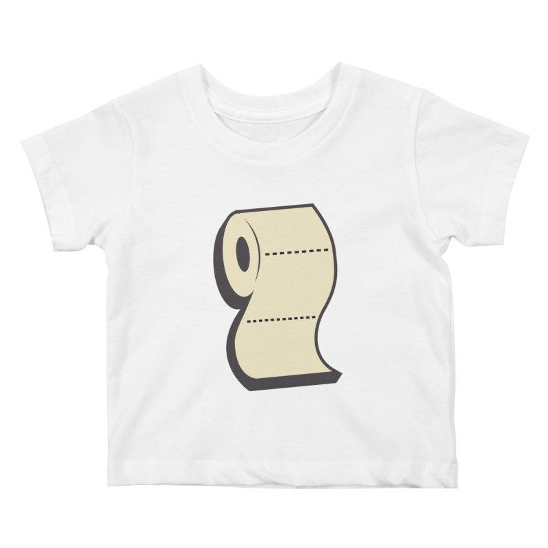 TP Kids Baby T-Shirt by Mike Hampton's T-Shirt Shop