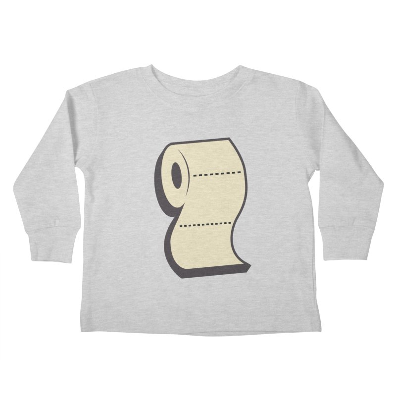 TP Kids Toddler Longsleeve T-Shirt by Mike Hampton's T-Shirt Shop
