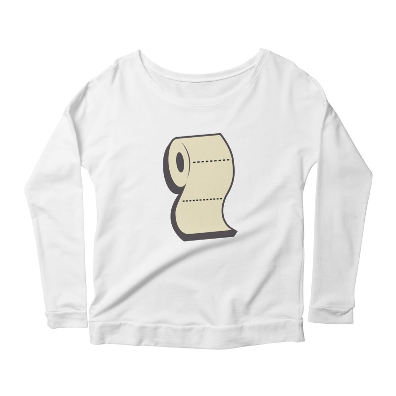 TP Women's Scoop Neck Longsleeve T-Shirt by Mike Hampton's T-Shirt Shop