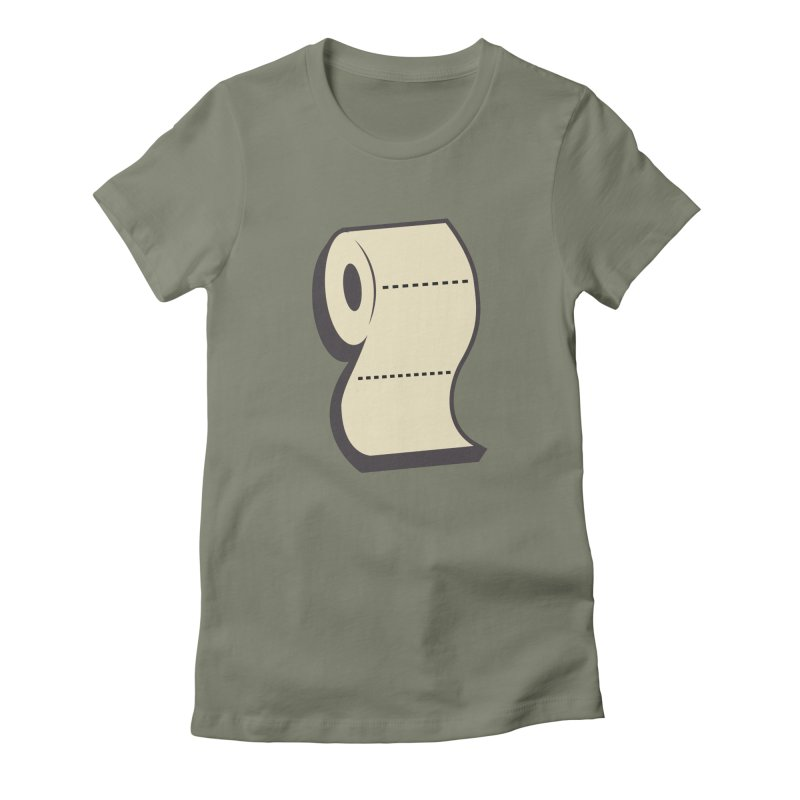 TP Women's Fitted T-Shirt by Mike Hampton's T-Shirt Shop