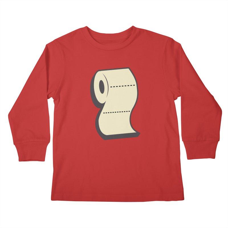 TP Kids Longsleeve T-Shirt by Mike Hampton's T-Shirt Shop