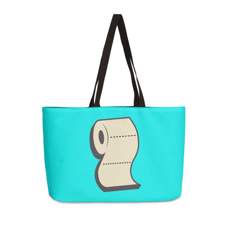 TP Accessories Weekender Bag Bag by Mike Hampton's T-Shirt Shop