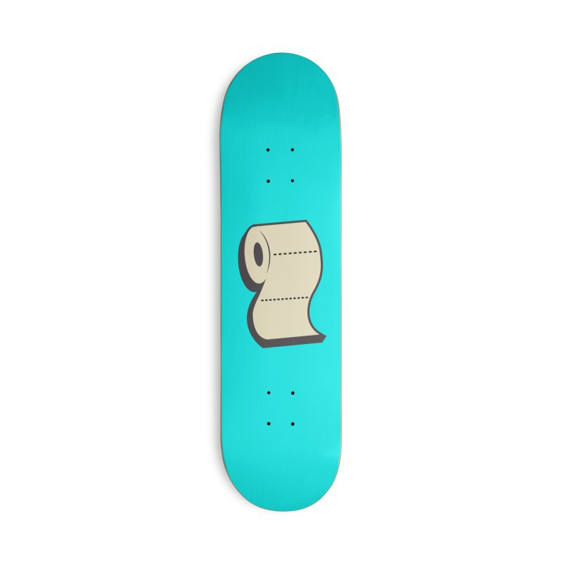 TP Accessories Deck Only Skateboard by Mike Hampton's T-Shirt Shop