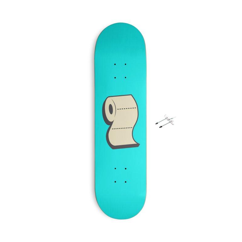 TP Accessories Skateboard by Mike Hampton's T-Shirt Shop