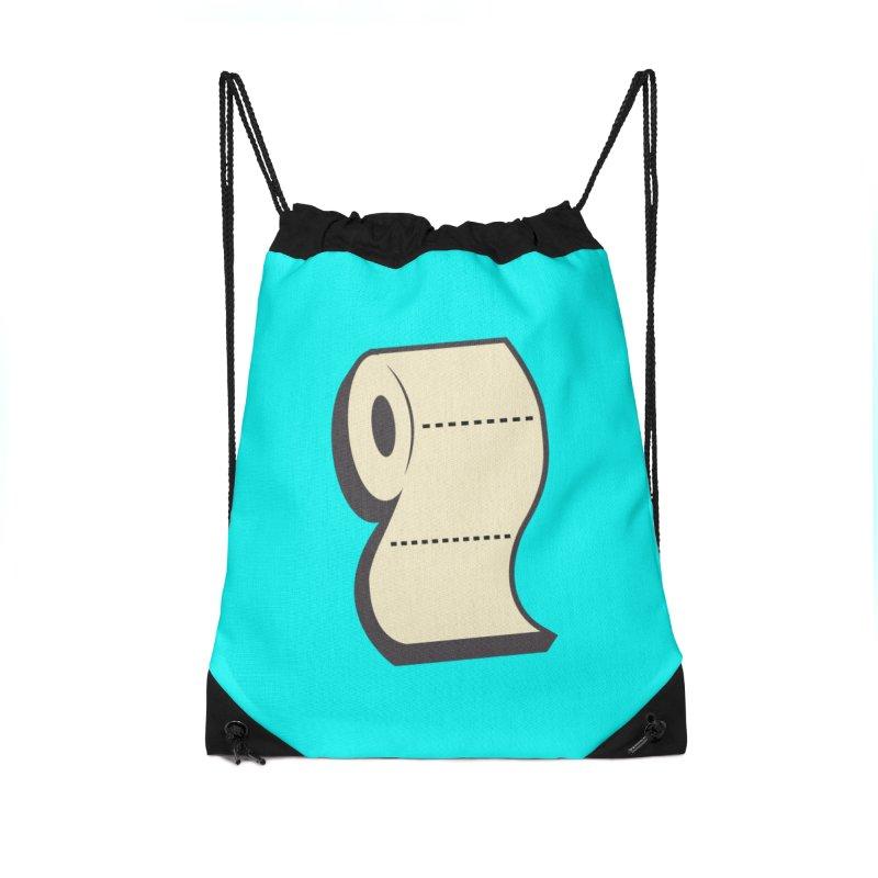 TP Accessories Drawstring Bag Bag by Mike Hampton's T-Shirt Shop