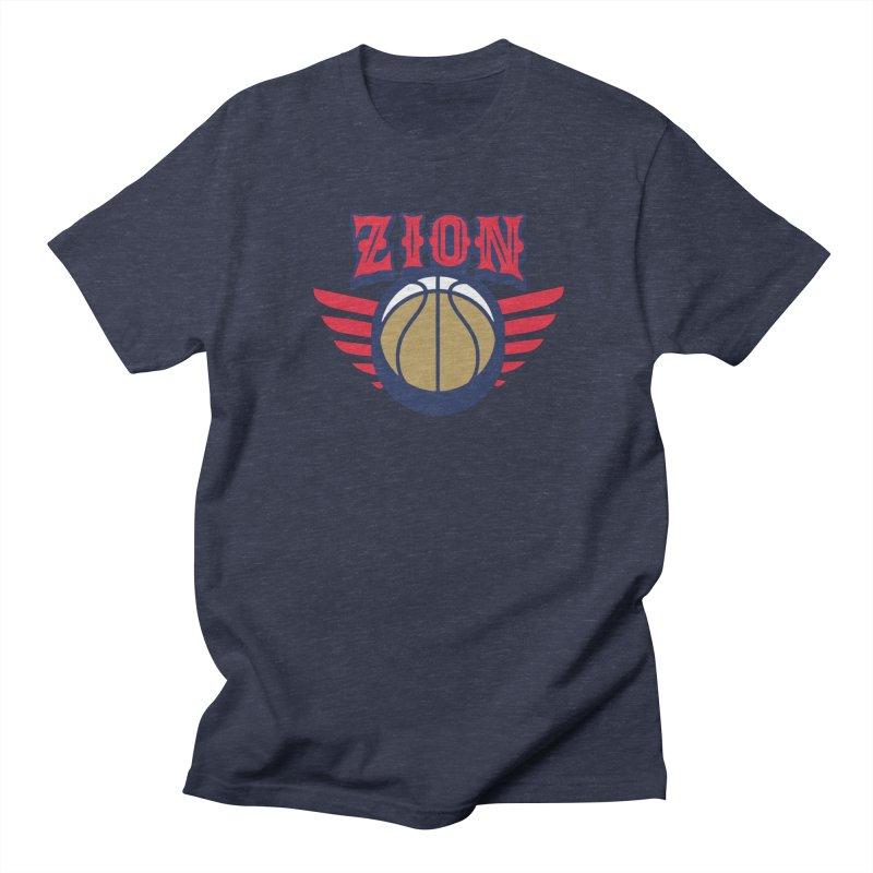 Zion Men's Regular T-Shirt by Mike Hampton's T-Shirt Shop