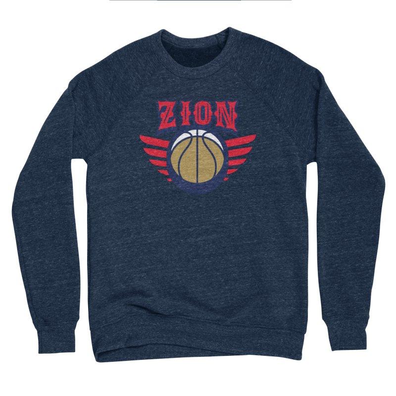 Zion Men's Sponge Fleece Sweatshirt by Mike Hampton's T-Shirt Shop