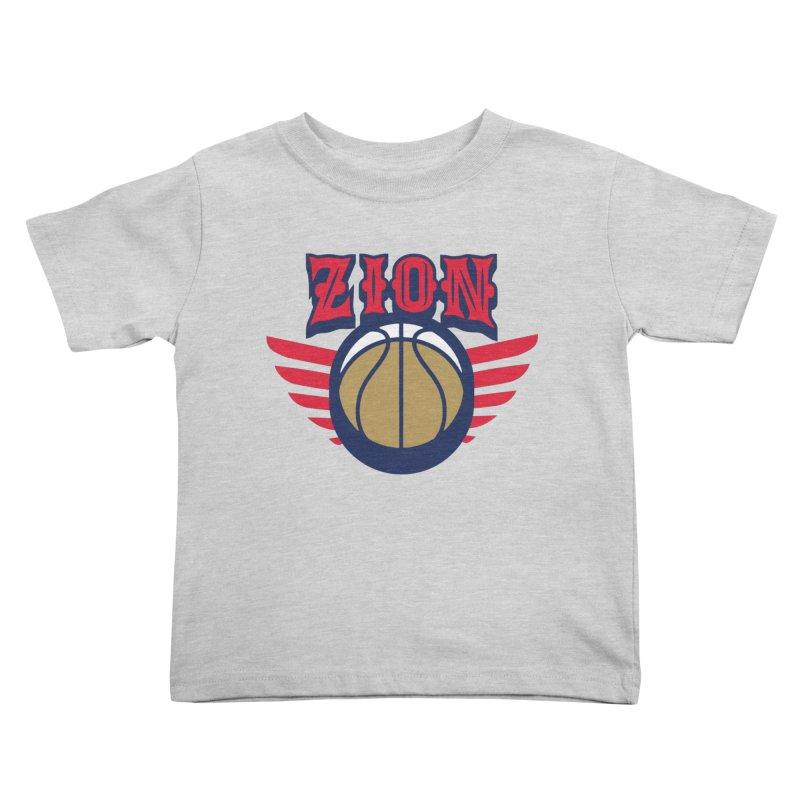 Zion Kids Toddler T-Shirt by Mike Hampton's T-Shirt Shop