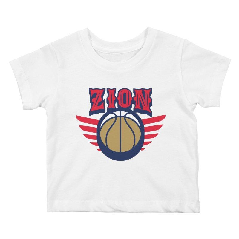 Zion Kids Baby T-Shirt by Mike Hampton's T-Shirt Shop