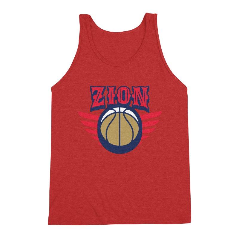 Zion Men's Triblend Tank by Mike Hampton's T-Shirt Shop