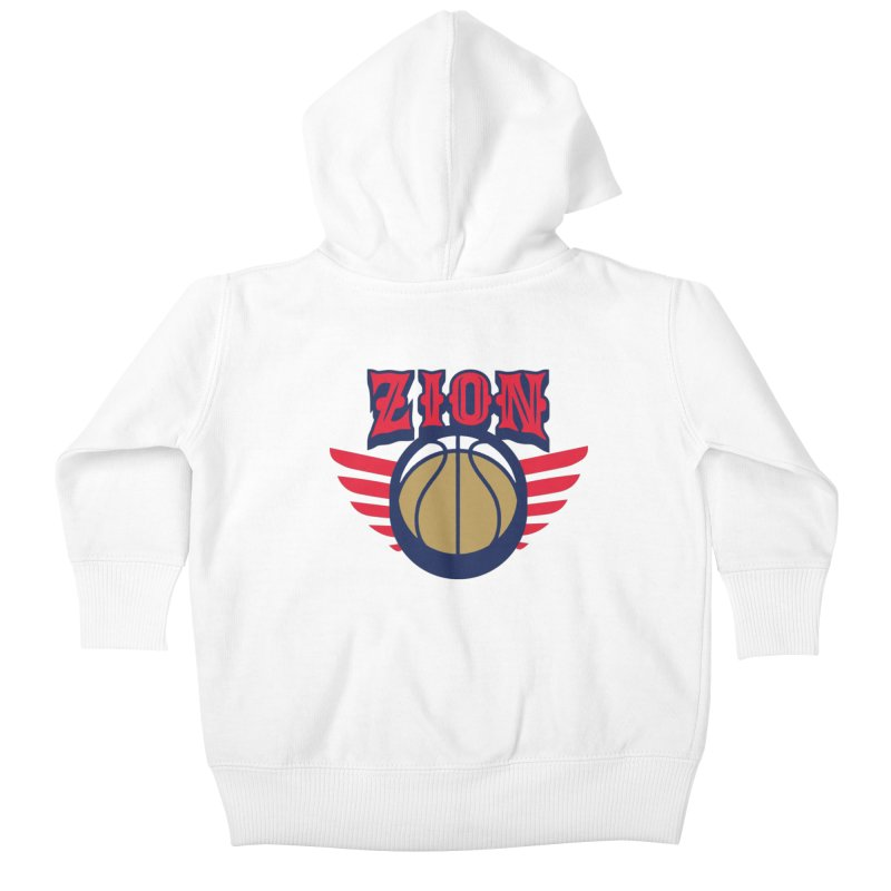 Zion Kids Baby Zip-Up Hoody by Mike Hampton's T-Shirt Shop