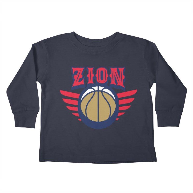 Zion Kids Toddler Longsleeve T-Shirt by Mike Hampton's T-Shirt Shop