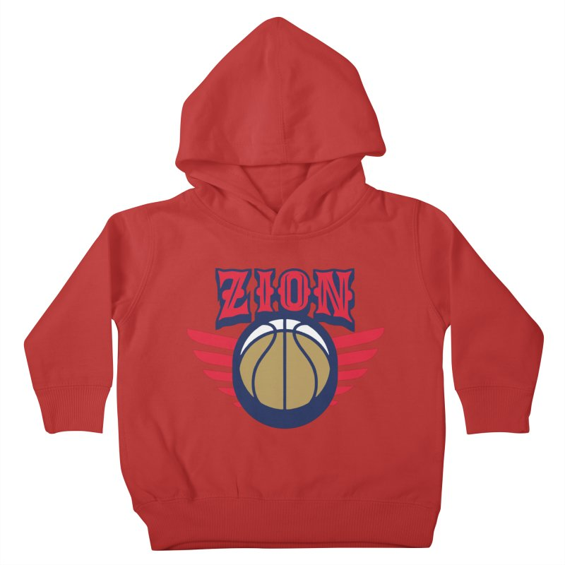 Zion Kids Toddler Pullover Hoody by Mike Hampton's T-Shirt Shop