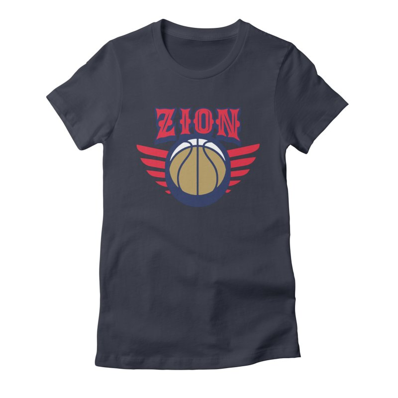 Zion Women's Fitted T-Shirt by Mike Hampton's T-Shirt Shop