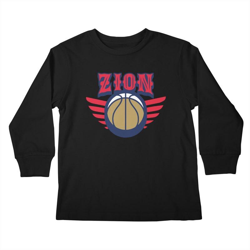 Zion Kids Longsleeve T-Shirt by Mike Hampton's T-Shirt Shop