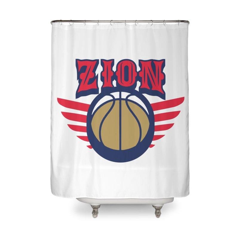 Zion Home Shower Curtain by Mike Hampton's T-Shirt Shop