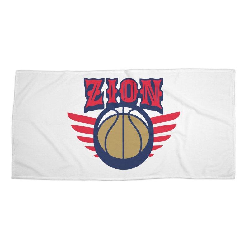 Zion Accessories Beach Towel by Mike Hampton's T-Shirt Shop