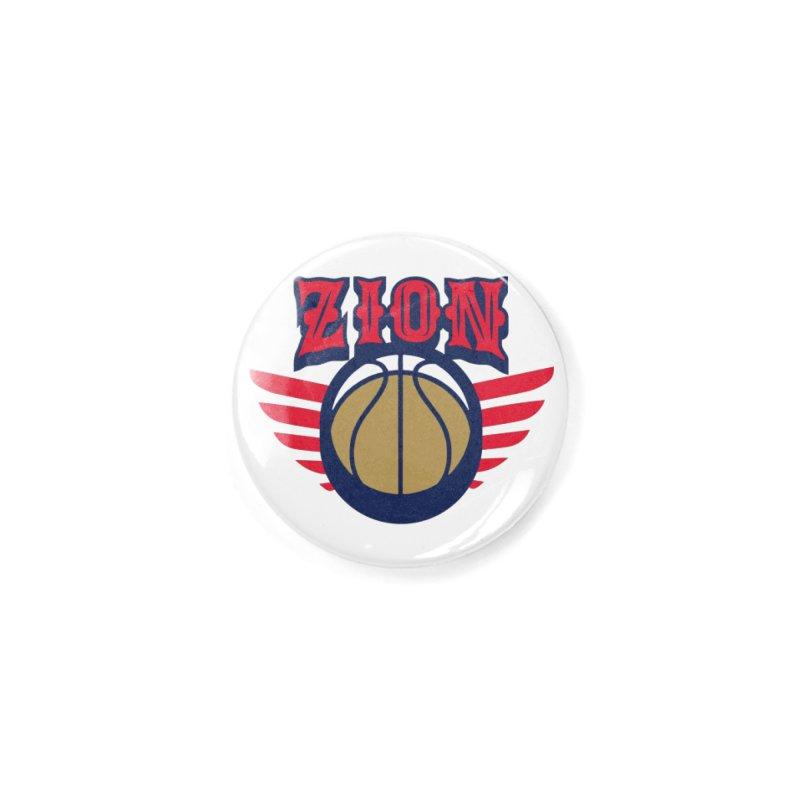 Zion Accessories Button by Mike Hampton's T-Shirt Shop