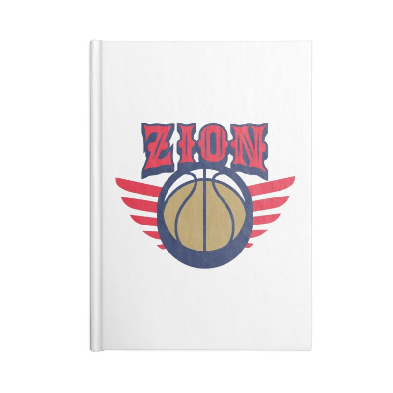 Zion Accessories Notebook by Mike Hampton's T-Shirt Shop
