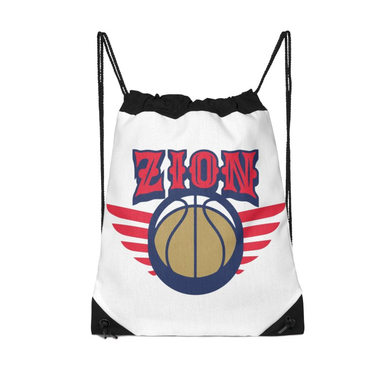 Zion Accessories Drawstring Bag Bag by Mike Hampton's T-Shirt Shop