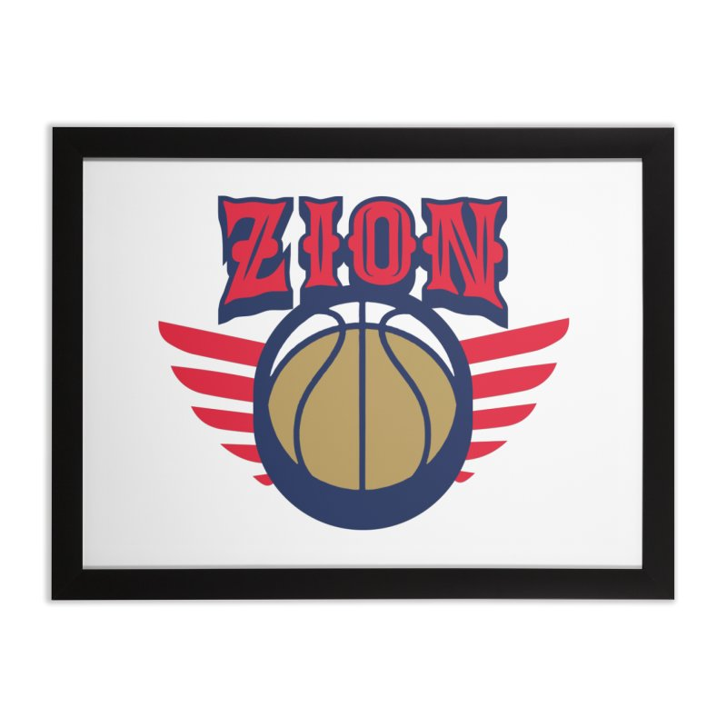 Zion Home Framed Fine Art Print by Mike Hampton's T-Shirt Shop