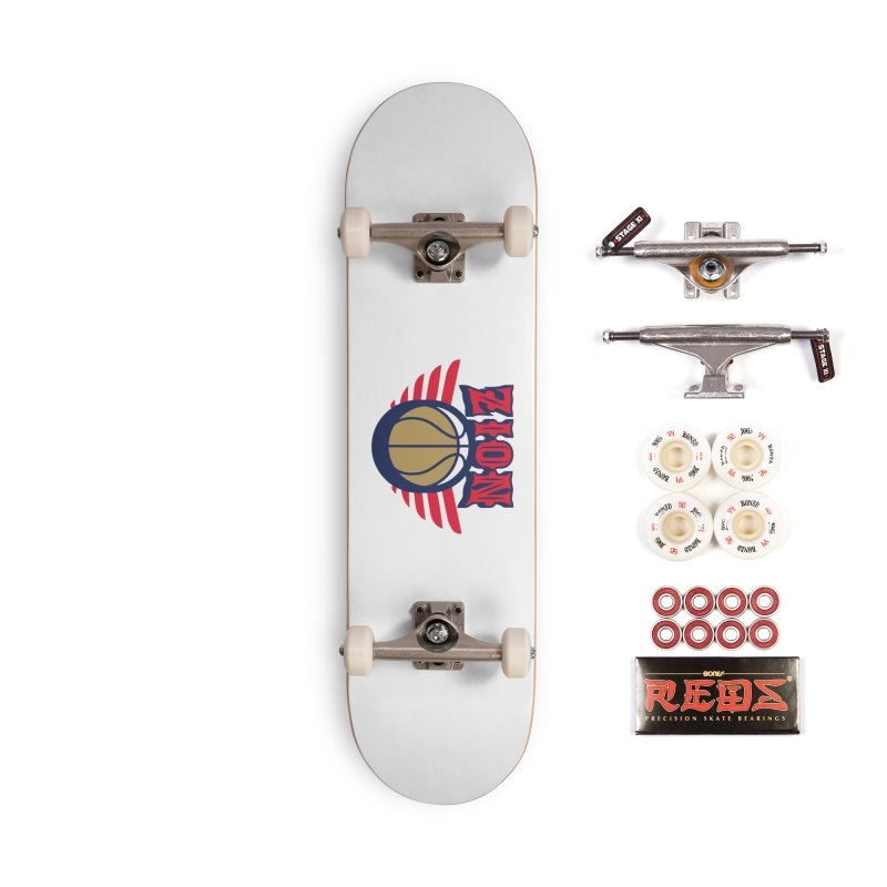 Zion Accessories Skateboard by Mike Hampton's T-Shirt Shop