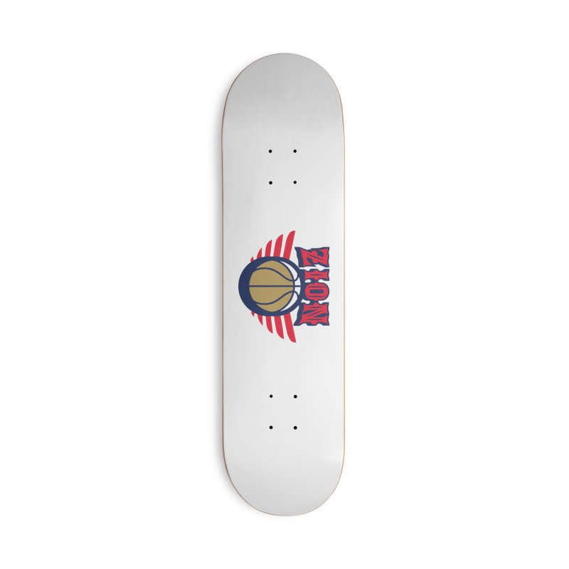 Zion Accessories Deck Only Skateboard by Mike Hampton's T-Shirt Shop