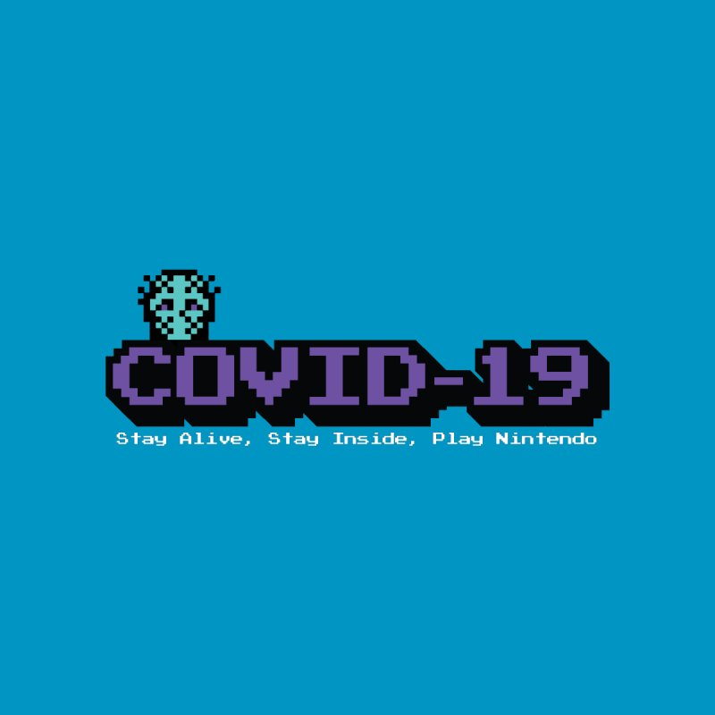 COVID-19-8-BIT Accessories Notebook by Mike Hampton's T-Shirt Shop