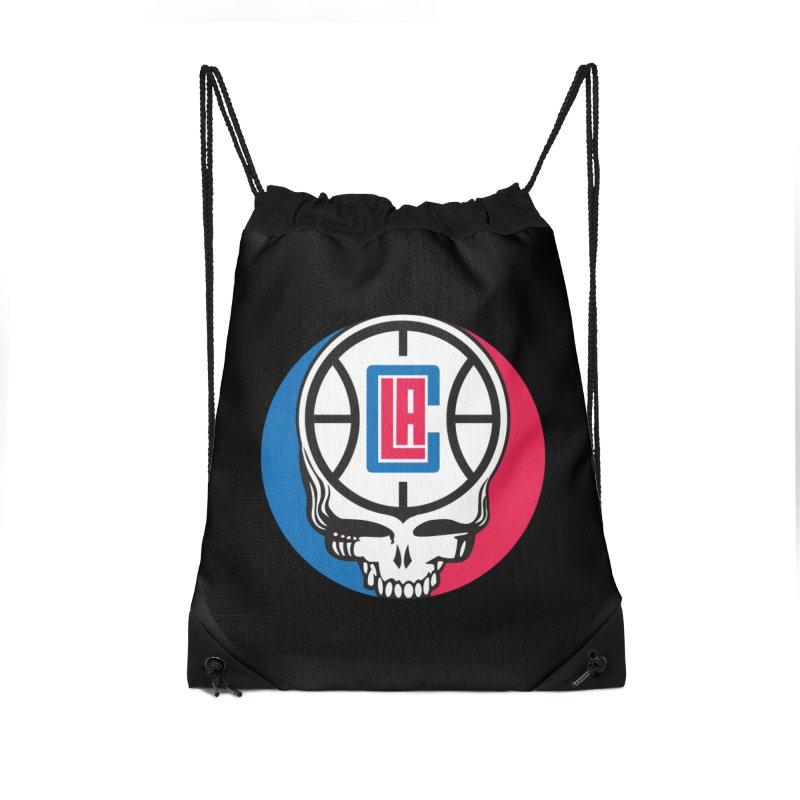 Grateful Clips Accessories Drawstring Bag Bag by Mike Hampton's T-Shirt Shop