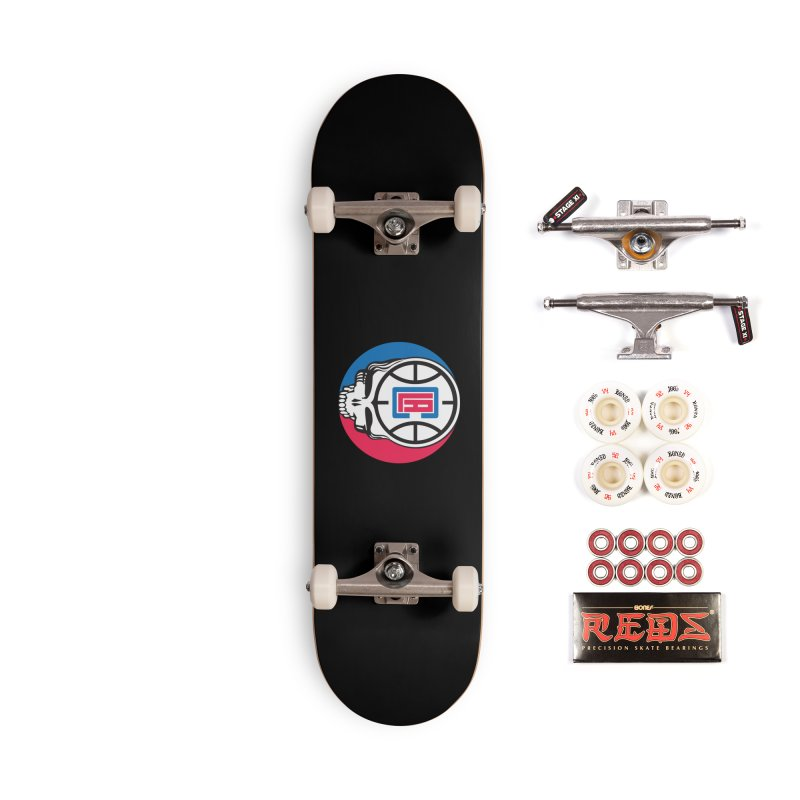 Grateful Clips Accessories Skateboard by Mike Hampton's T-Shirt Shop