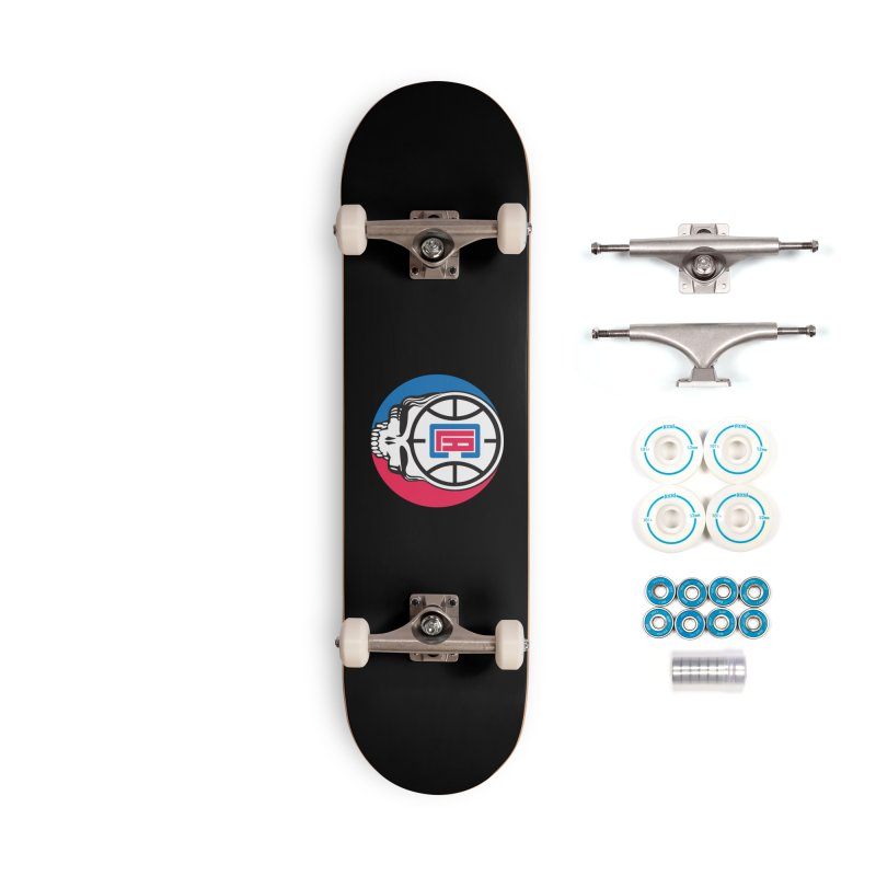 Grateful Clips Accessories Skateboard by Mike Hampton's T-Shirt Shop
