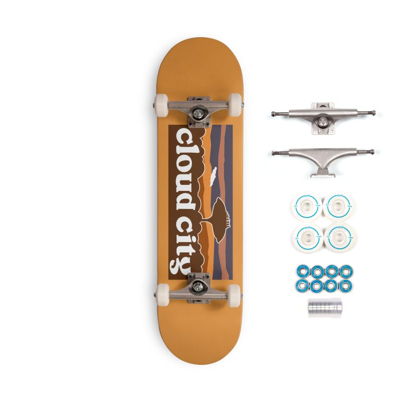 Parody Design #4 Accessories Complete - Basic Skateboard by Mike Hampton's T-Shirt Shop