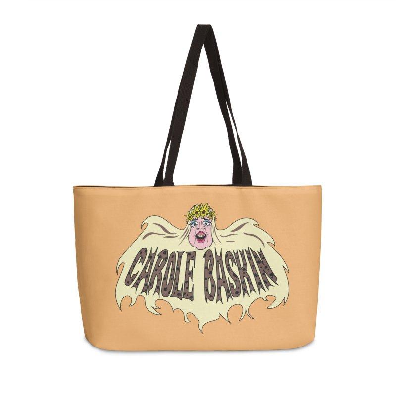 Carole Baskin Accessories Weekender Bag Bag by Mike Hampton's T-Shirt Shop