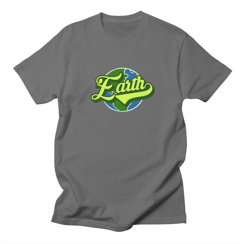 Earth! The Home Team Men's T-Shirt by Mike Hampton's T-Shirt Shop